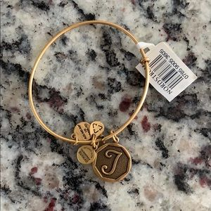 Alex and ani J bracelet